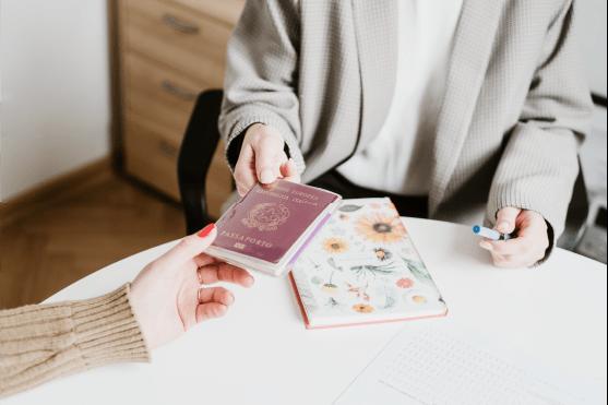 background passport